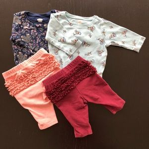 Old navy baby girl outfit bundle